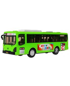 Školský autobus zelený